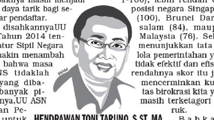 OPINI Hendrawan Toni Taruno : Optimalkan Sektor Unggulan
