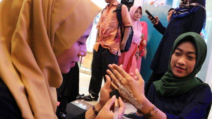 Mal Ciputra Semarang bersama Java Henna Community Gelar '25 White Henna'