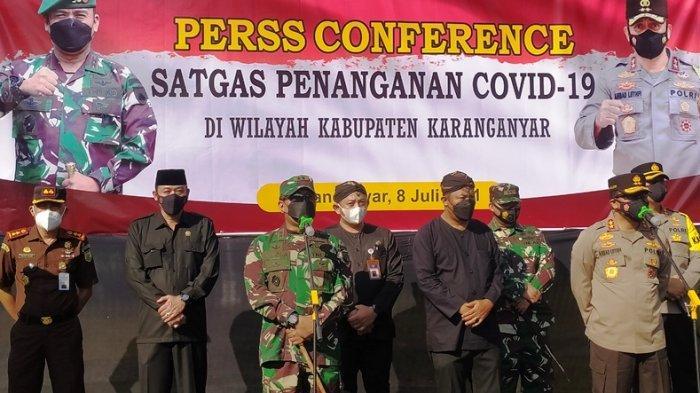 Apel Satgas Covid-19 di Karanganyar, Kapolda & Pangdam IV Diponegoro Ingatkan Soal Saling Mendukung