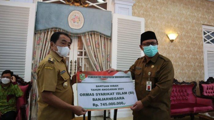 Pemkab Banjarnegara Beri Dana Hibah untuk Ormas dan Yayasan
