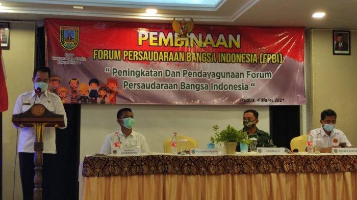HM Hartopo Harap FPPBI Bisa Jaga Kondusivitas Kota Kudus
