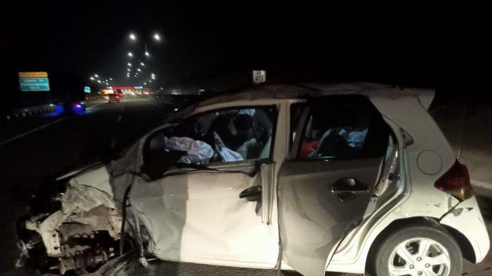 Kecelakaan di Tol Batang-Semarang, Honda Brio Ringsek, Korban Luka Parah