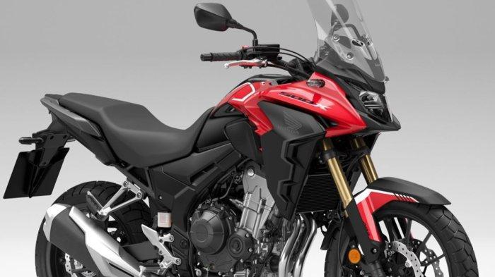 Honda CB500X Bergaya Adventure, Tampil Makin Gesit dan Agresif