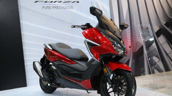 Honda Forza Tampil Semakin Mewah dan Prestisius