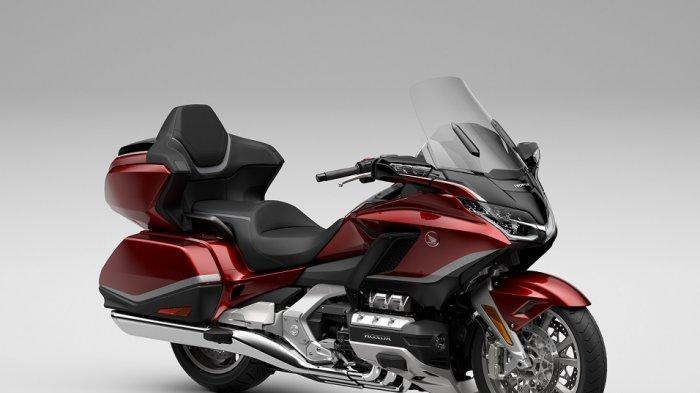 AHM Pasarkan Honda GL1800 Gold Wing yang Semakin Premium