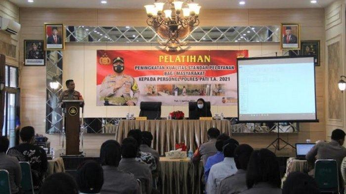 Targetkan Wilayah Bebas dari Korupsi, Polres Pati Gandeng BRI Gelar Pelatihan Tingkatkan Pelayanan