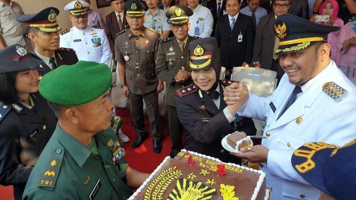 Puncak HUT Bhayangkara ke 73, AKBP Rondhijah Harap Anggota Polres Tegal Kota Semakin Profesional
