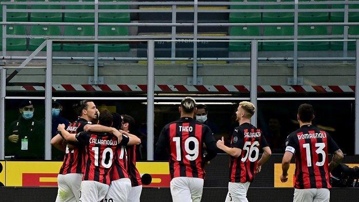 Nonton TV Online Ini Link Live Streaming AC Milan Vs Roma Serie A Liga Italia Duel Setan Vs Serigala