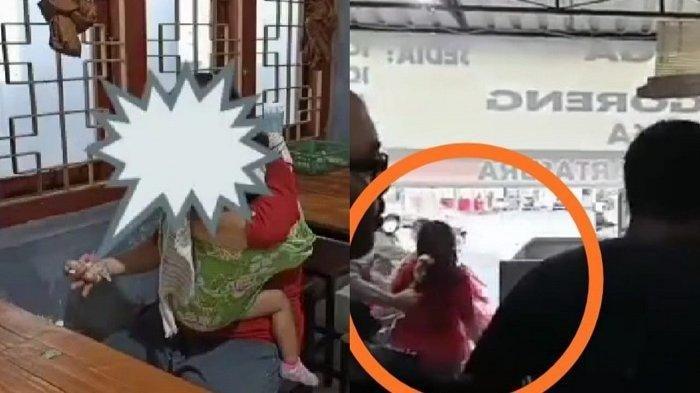 Ibu Gendong Anak Curi Uang Rp 400 Ribu di Warung Sop Iga Bu Rosa Sukoharjo