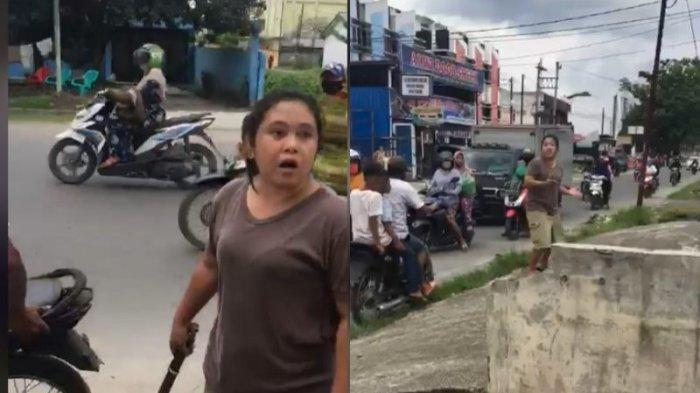 Viral Satu Keluarga di Medan Bawa Parang Datangi Rumah Orang Tak Terima Anaknya Ditegur