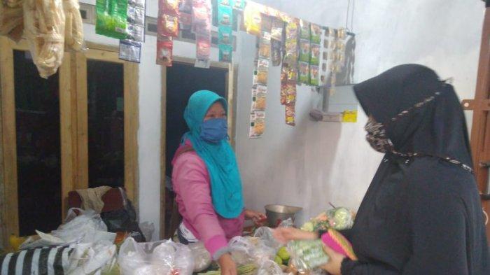 Ibu-ibu di Banyumas Munculkan Gerakan Kembali Belanja di Warung Tetangga di Tengah Pandemi Corona