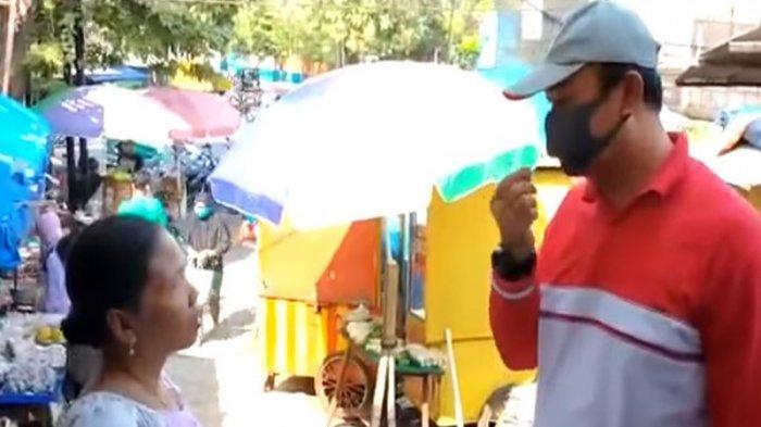 Viral Emak-emak Belanja di Pasar Semarang Ngotot Tolak Perintah Pakai Masker: Anda Memaksa Halus