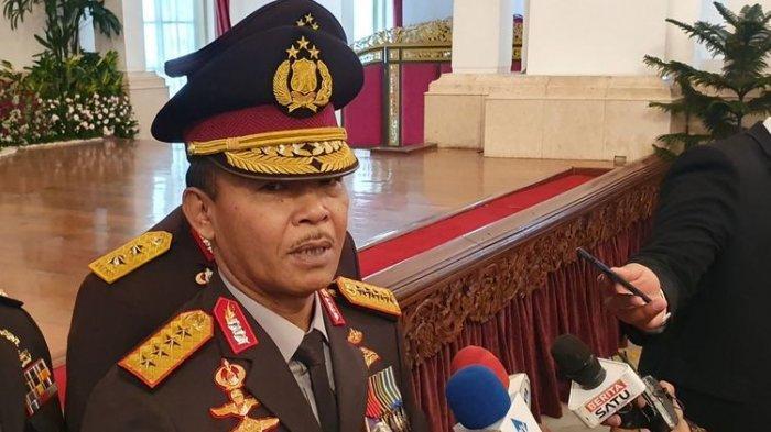 Setelah Dilantik Jokowi, Kapolri Idham Azis Bergegas Pergi Saat Ditanya Kasus NovelBaswedan