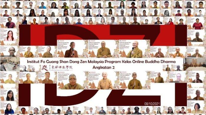 Antusiasme Tinggi, Kelas Online Buddha Dharma Institut Dong Zen Indonesia Angkatan Kedua Sudah Mulai