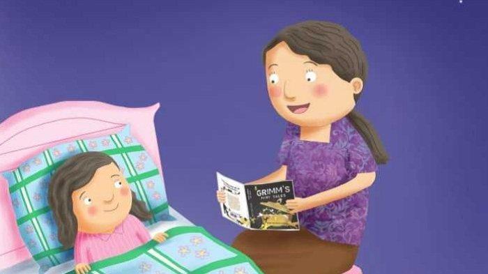Dongeng Anak Sebelum Tidur Putri Mawar Pemberi Mimpi Indah dan Burung Emas
