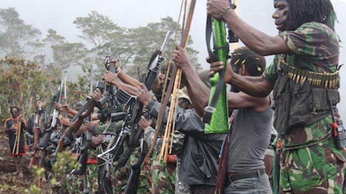 KKB Kabur Lompat Ke Jurang Seusai Kontak Senjata Menyergap Polsek Kiwirok