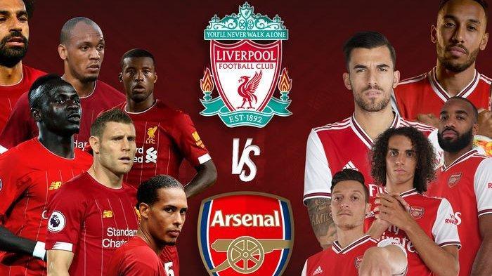 Sedang Berlangsung Ini Link Live Streaming TV Online Liverpool Vs Arsenal Liga Inggris