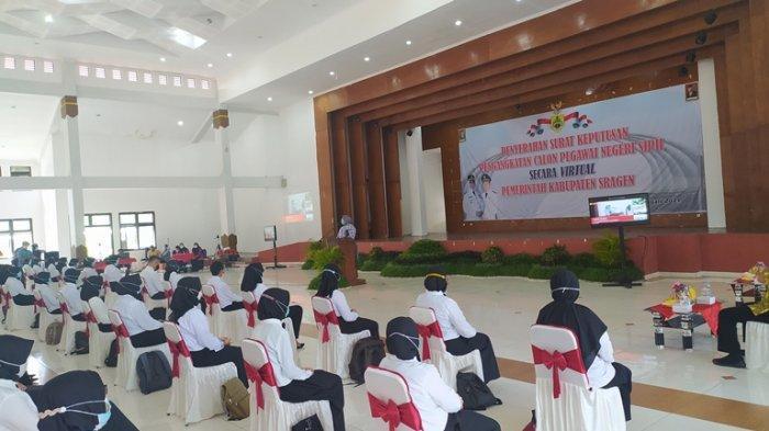 Pemkab Sragen Rekrutmen 63 CPNS dan 1.589 Pegawai Pemerintah dengan Perjanjian Kerja Formasi 2021