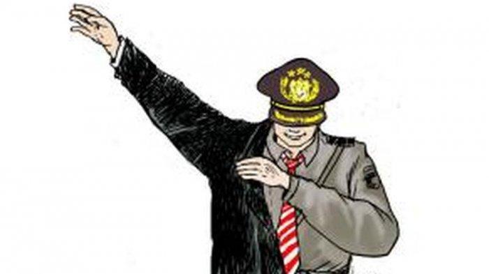 Ilustrasi Polisi Gadungan