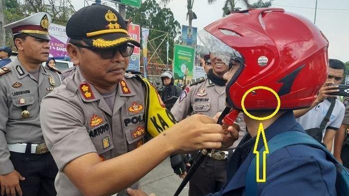 Helm Sudah Ada Logo SNI Masih Ditilang Polisi? Ini Penjelasan Mabes Polri