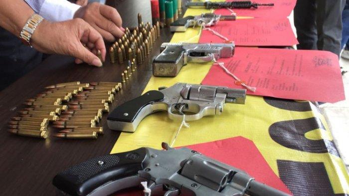 Mantan Pegawai Bank Jual Senjata Api Rakitan, Awalnya Mengaku untuk Bela Diri