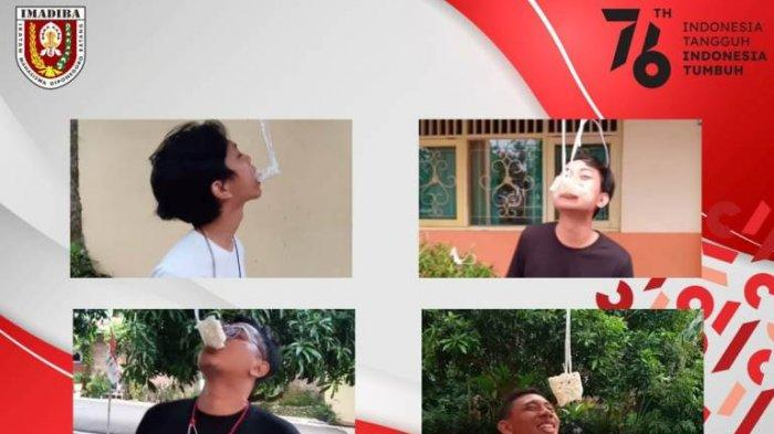 Tak Kalah Meriah, Imadiba Gelar Lomba Makan Kerupuk Secara Virtual Rayakan HUT ke-76 RI