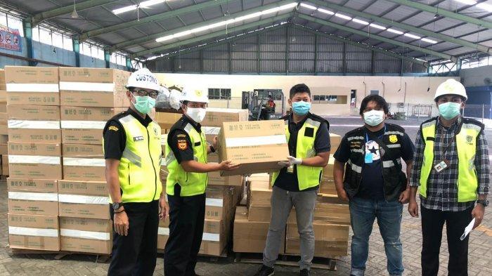 Bea Cukai Tanjung Emas Kembali Berikan Fasilitas Pembebasan 110.000 Masker