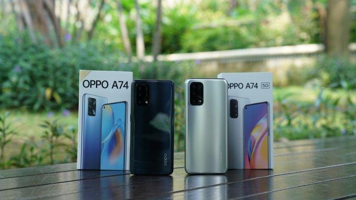 Ini Beda Spesifikasi dan Harga Antara Oppo A74 dengan Oppo A74 5G