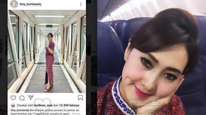 Terungkap di Medsos Foto Fany Diduga Calon Istri Sule Mantan Suami Lina Ternyata Seorang Pramugari