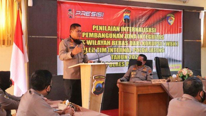 Ketua TPI Polda Jateng AKBP Cahyo Minta Inovasi Layanan Polres Pemalang Dijalankan