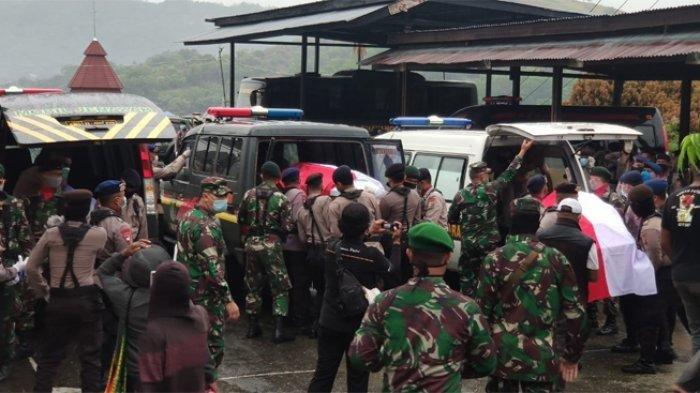 Buntut Bentrok TNI-Polri di Papua, Polda Tarik Senjata Seluruh Anggota PolresMamberamo
