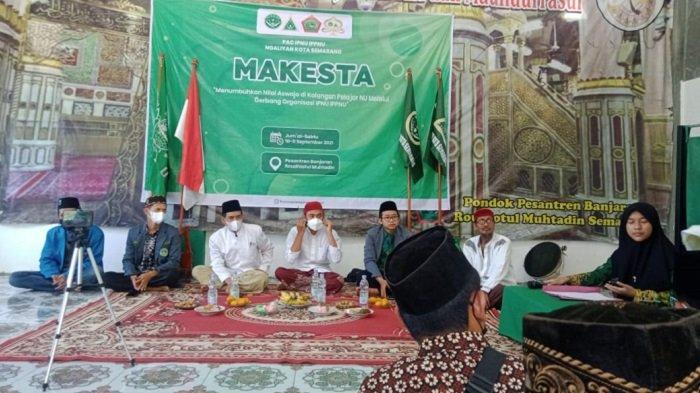 IPNU dan IPPNU Ngaliyan Semarang Gelar Makesta Tepat di Hari Kelahiran KH Tholhah Mansoer