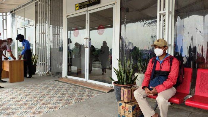 Penerbangan Pertama di Bandara Jenderal Soedirman Purbalingga Hari Ini, Isa Sengaja Berangkat Pagi
