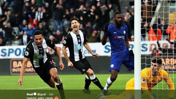 Hasil Liga Inggris Tadi Malam:Newcastle Bikin Chelsea Sakit Hati Gara-gara Gol di MenitAkhir
