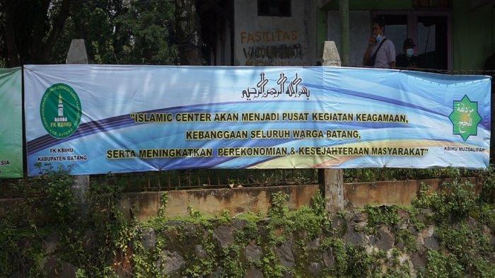 Pembangunan Islamic Center Batang Rp 11 Miliar Dilanjutkan