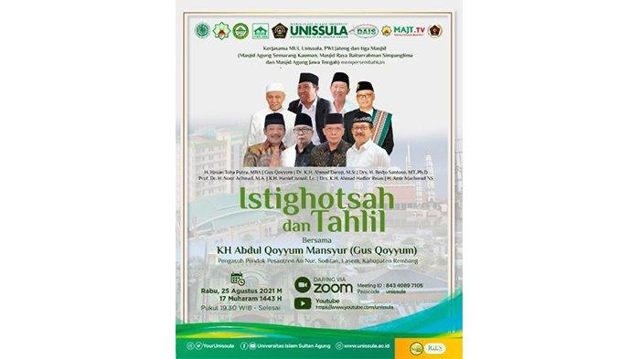 Unissula Semarang Gelar Istighotsah Bersama Gus Qoyyum