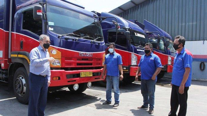 Isuzu Fokus Efisiensi BBM untuk Kendaraan Logistik