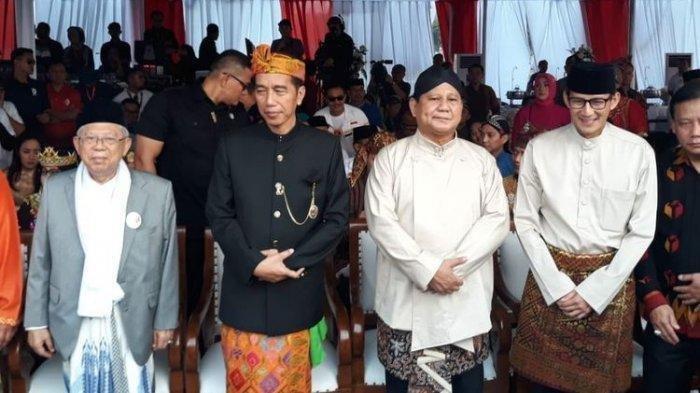Prabowo & Sandiaga Uno Kini Satu Paket di Pemerintahan jadi Menteri Jokowi