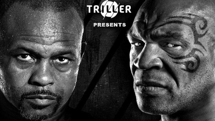 Ini Link Live Streaming Pertandingan Tinju Mike Tyson Vs Roy Jones Jr, Tidak Disiarkan di TV