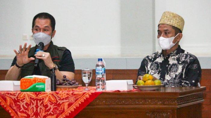 Jagong Gayeng Bareng Linmas, Hartopo: Linmas Pahlawan Tanpa Tanda Jasa