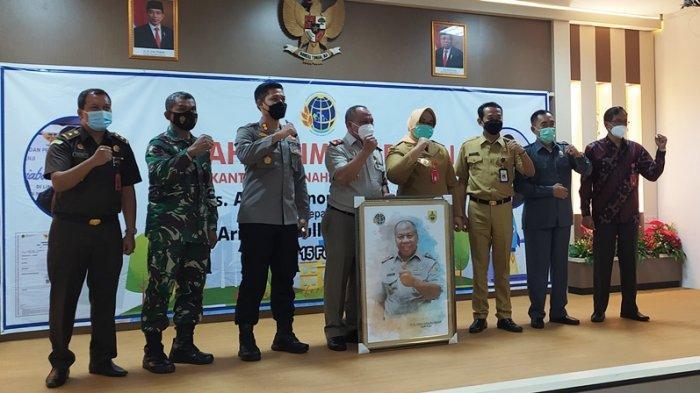 Kepala BPN Sragen Kini Dipimpin Arief Syaifullah, Ini Harapan Bupati Yuni