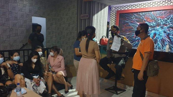 Beroperasi saat PPKM Darurat, 8 Pemandu Lagu dan 17 Pengunjung Karaoke di Pati Digelandang Polisi