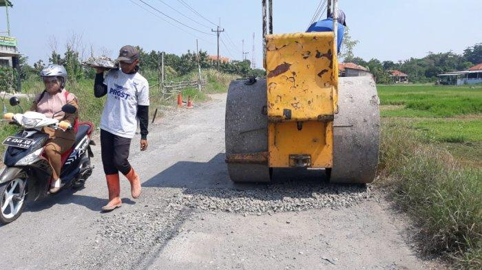 Perbaikan 70 Persen Jalan Berlubang di Kabupaten Tegal Dikebut