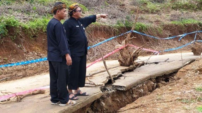 Karena Sering Amblas, Seusai Tinjauan DPUR Karanganyar, Jalan Penghubung Desa Bakal Digeser