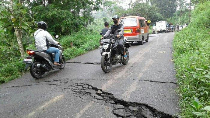 Imbas Jalan Rusak, Objek Wisata Guci Tegal Sepi Pengunjung, Bahkan Penurunan Capai 80 Persen