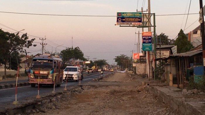 PPK Jalan Nasional Batang-Pemalang Kebut Perbaikan Jalur Pantura di Petarukan