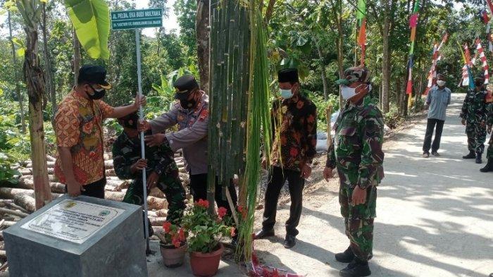 Pelda Eka Mulyana, Korban Kecelakaan Maut KA Vs Kendaraan Patroli di Kalijambe Dijadikan Nama Jalan