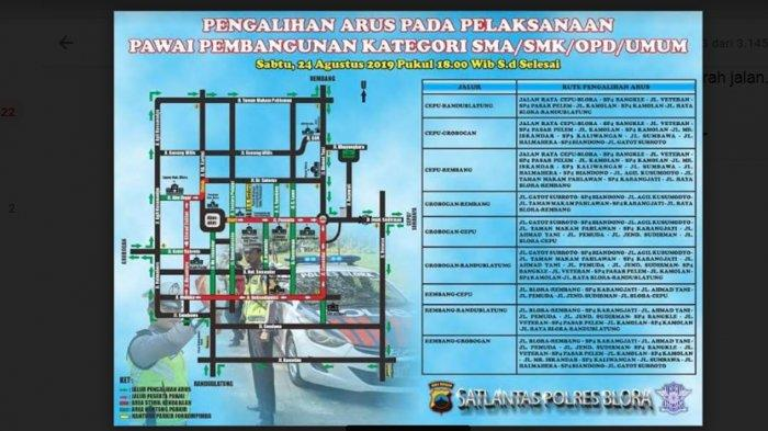 Besok Sejumlah Jalan Utama di Blora Akan Ditutup, Ini Jalur Pengalihan yang Disiapkan