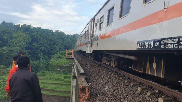 Jalur KA Linggapura-Bumiayu Untuk Sementara Diberlakukan Jalur Tunggal