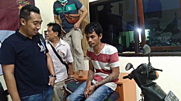 Fakta Penjambret Viral Bawa Anak Kecil di Semarang, Untuk Beli Susu dan Pot Bunga Prakarya Buah Hati